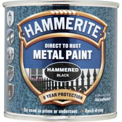Direct To Rust Metal Paint Hammered Black 250Ml