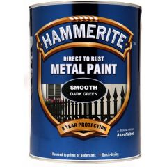 Direct To Rust Metal Paint Smooth Dark Green 5 Litre