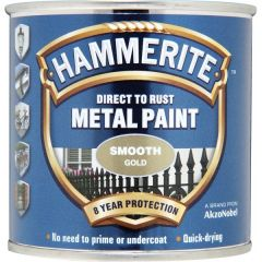 Direct To Rust Metal Paint Smooth Gold 750Ml