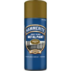 Direct To Rust Metal Paint Smooth Gold 400Ml
