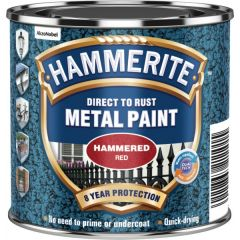 Direct To Rust Metal Paint Hammered Red 250Ml