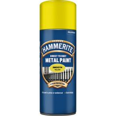 Direct To Rust Metal Paint Smooth Yellow 400Ml