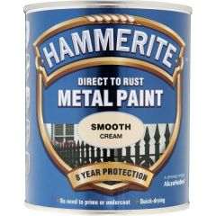 Direct To Rust Metal Paint Smooth Cream 750Ml