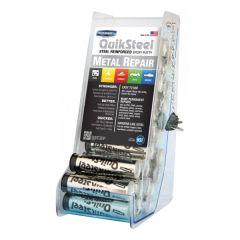 Steel Epoxy Putty 24 X 2Oz Stick Acrylic Cdu