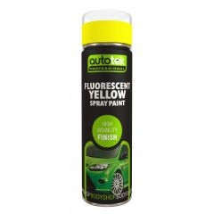 Aerosol Paint Fluorescent Yellow 500Ml