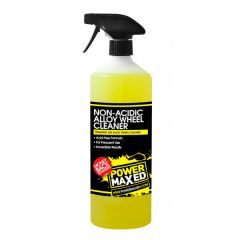 Power Maxed Frequent Use Nonacidic Wheel Cleaner 1Ltr Ready To Use