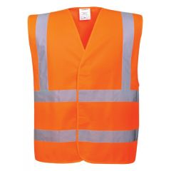 PORTWEST HiVis Vest  Orange  LargeX Large