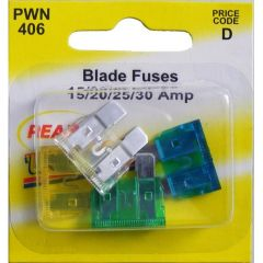 Fuses Standard Blade Assorted Pack Of 4 15A20a25a30a
