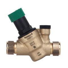 Honeywell Home Prv 1/2€ Bsp Connections Outlet Range 1.5-6.0 Bar Complete With Gauge D04fm-1/2Zgc