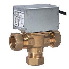 Honeywell Home 3-Port Motorised Diverter Valve 28 Mm V4044c1569/U