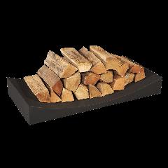 Black Log Holder - Radius Large