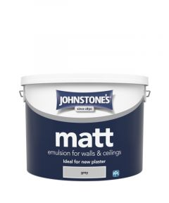 Johnstone's Wall & Ceiling Matt 10L Grey