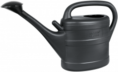 Green Wash Recycled Anthracite Watering Can 10L