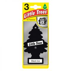 Saxon Little Trees Triple Pack Black Ice