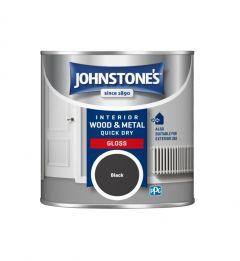 Johnstone's Quick Dry Gloss 250ml Black