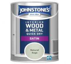 Johnstone's Quick Dry Satin 750ml Natural Sage