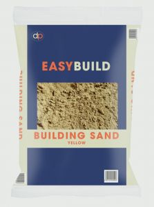 Deco-Pak Yellow Building Sand 25kg Trade Pack