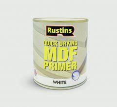 Rustins MDF Primer 250ml White