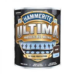 Hammerite Ultima Smooth Metal Paint 750ml Brown