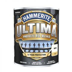 Hammerite Ultima Smooth Metal Paint 750ml White