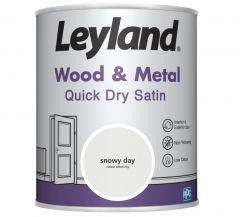Leyland Wood & Metal Quick Dry Satin 750ml