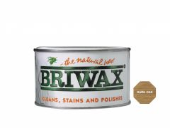 Briwax Natural Wax 400g Dark Oak