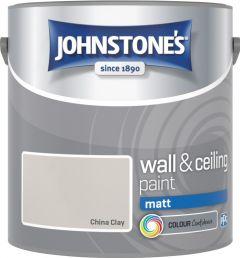 Johnstone's Wall & Ceiling Matt 2.5L China Clay