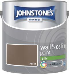 Johnstone's Wall & Ceiling Silk 2.5L Mocha