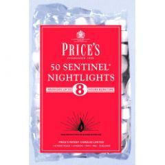 Price's Candles Sentinel Nightlights Pack 50