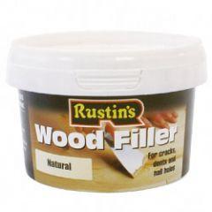 Rustins Wood Filler 500g Natural