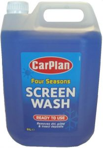 Carplan All Seasons Ready Mixed Screen Wash 5L