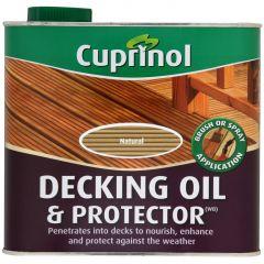 Cuprinol Decking Oil & Protector 2.5L Natural