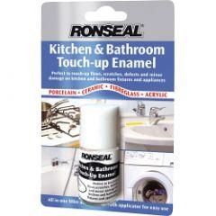 Ronseal Kitchen & Bathroom Touch-Up Enamel 10ml