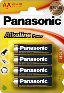 Panasonic Alkaline AAA Pack 4