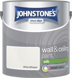 Johnstone's Wall & Ceiling Silk 2.5L White Whisper