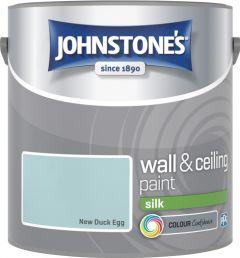 Johnstone's Wall & Ceiling Silk 2.5L New Duck Egg