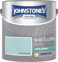 Johnstone's Wall & Ceiling Soft Sheen 2.5L New Duck Egg