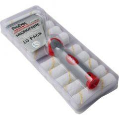 ProDec Short Pile Microfibre Roller & Frame (10 Pack) 4 /100mm