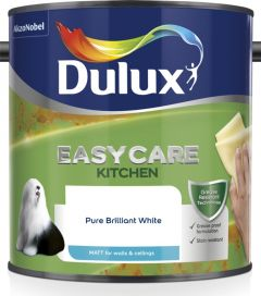 Dulux Easycare Kitchen Matt 2.5L Pure Brilliant White