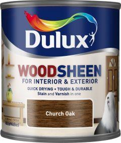 Dulux Woodsheen 250ml Church Oak