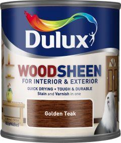 Dulux Woodsheen 250ml Golden Teak