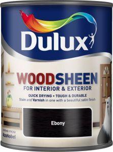 Dulux Woodsheen 750ml Ebony