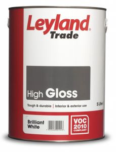 Leyland Trade Gloss 5L Black