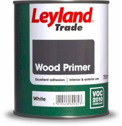 Leyland Trade Wood Primer 2.5L White
