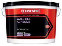 Evo-Stik Waterproof Wall Tile Adhesive for Ceramic Tiles 10L