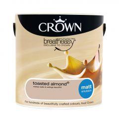 Crown Matt Emulsion 2.5L Toasted Almond