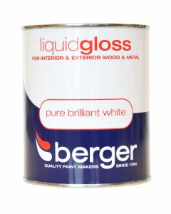 Berger Liquid Gloss 750ml Pure Brilliant White