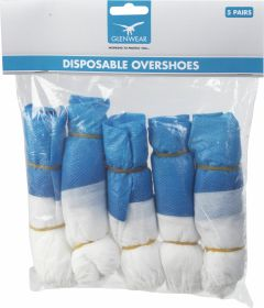 Glenwear Disposable Overshoes 5 pairs