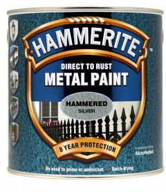 Hammerite Metal Paint Hammered 2.5L Silver