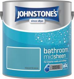 Johnstone's Bathroom Midsheen 2.5L Island Breeze